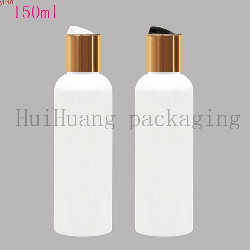 50x150ml shampooing vide bouteille de bouteille de bouteille doré plafonnier conditionneur de cheveux 150CC rechargeable lotion de corps rechargeable liquide SOAPHIGHIER