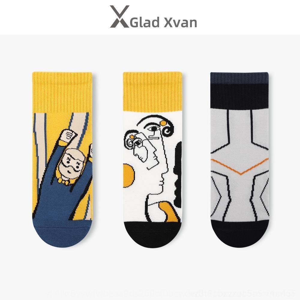 N6SH5 çoraplar fanı xueba kadın ins kare ekose çorap çizgili İpek ipek moda sonbahar N1ADv kış yeni çoraplar öğrenci Xi pamuk çift