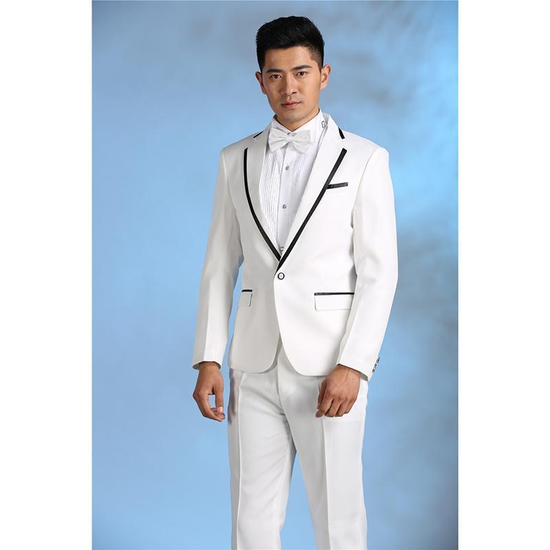 Мужские костюмы Blazers 2021 костюм Homme IsOry Men Suit Slim Fit 2 шт. Показать пиджак Мужская стадия производительности Tuxedo Terno Masculino