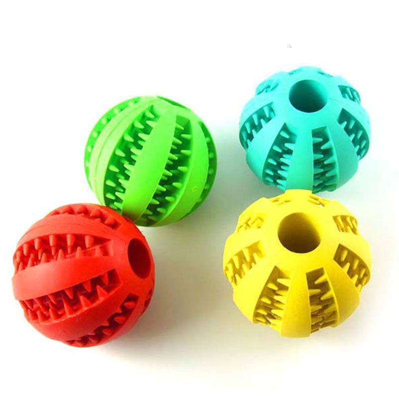 Nahrungsmittelhundspielzeug Elastische Natürliche Gummi Mint Fütterung Ball Pet Pädagogisches Spielzeug