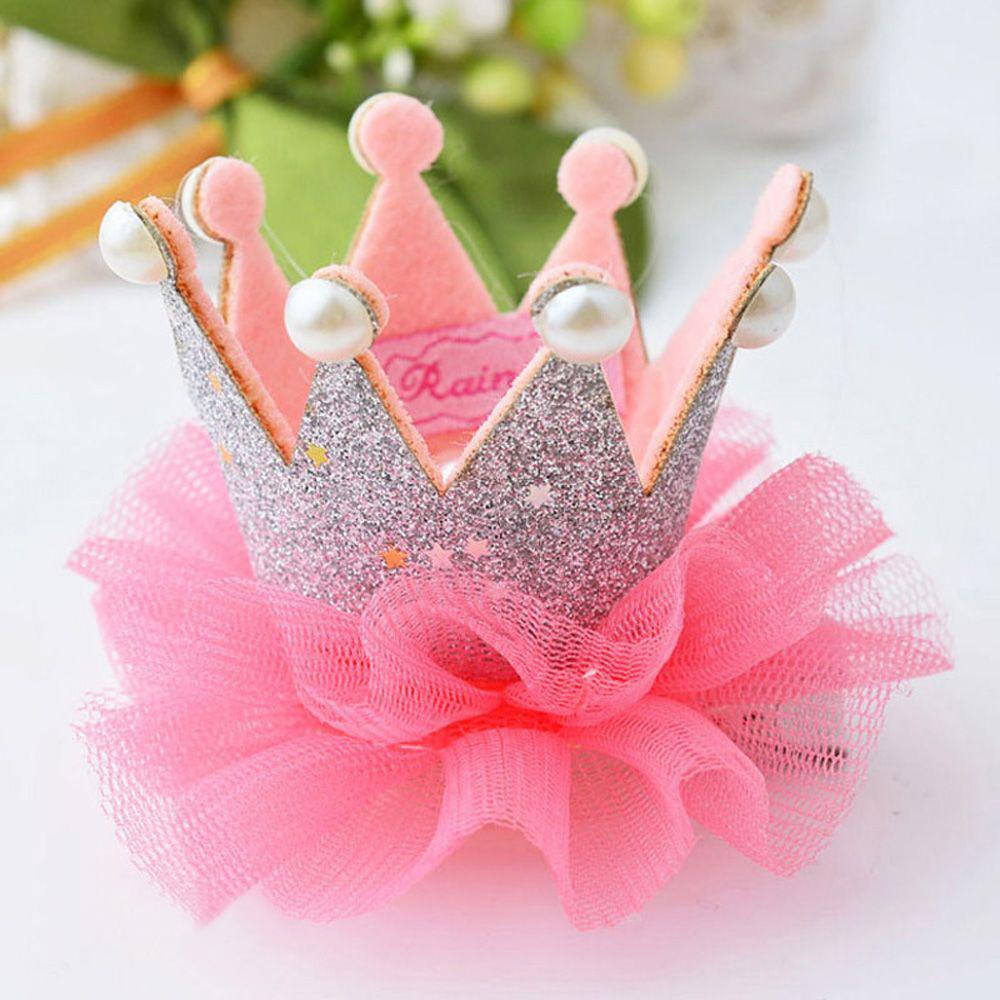 bébé cheveux clips Tiara cheveux cheveux bébé enfant cadeau d'anniversaire mignon cadeau bébé fille princesse couronne ruban barrette dentelle bandes cheveux fermoirs