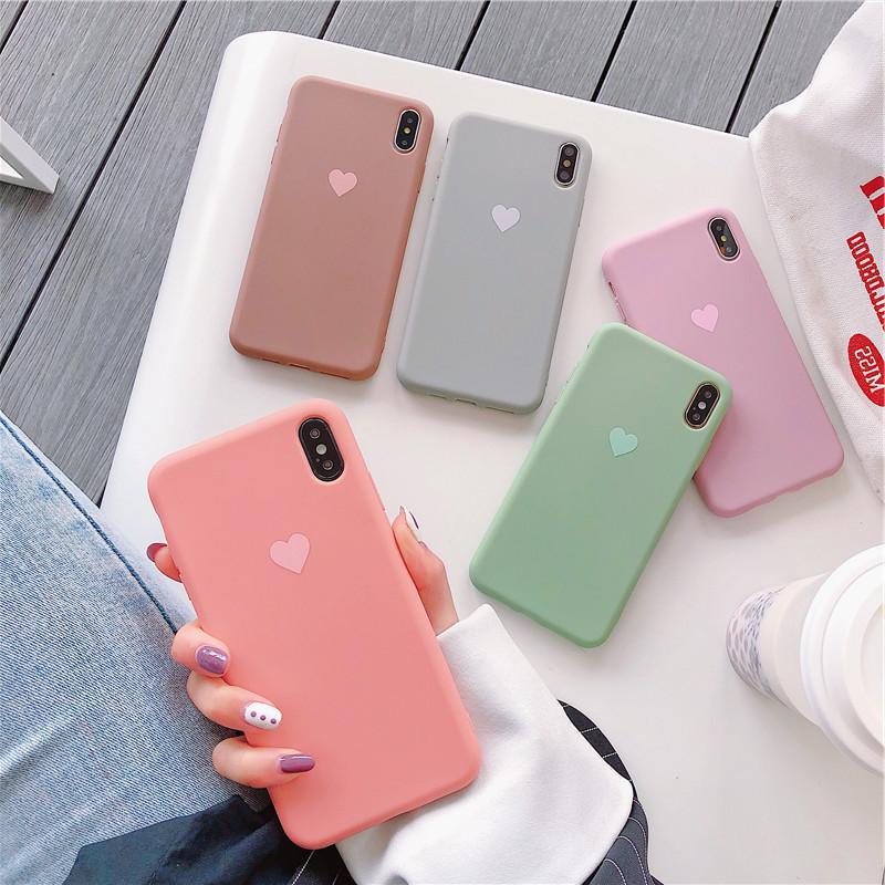 TPU P30 del color del caramelo de silicona suave cubierta de parachoques de la cáscara del teléfono para Huawei P20 Pro P 30 casos honor 10 Lite