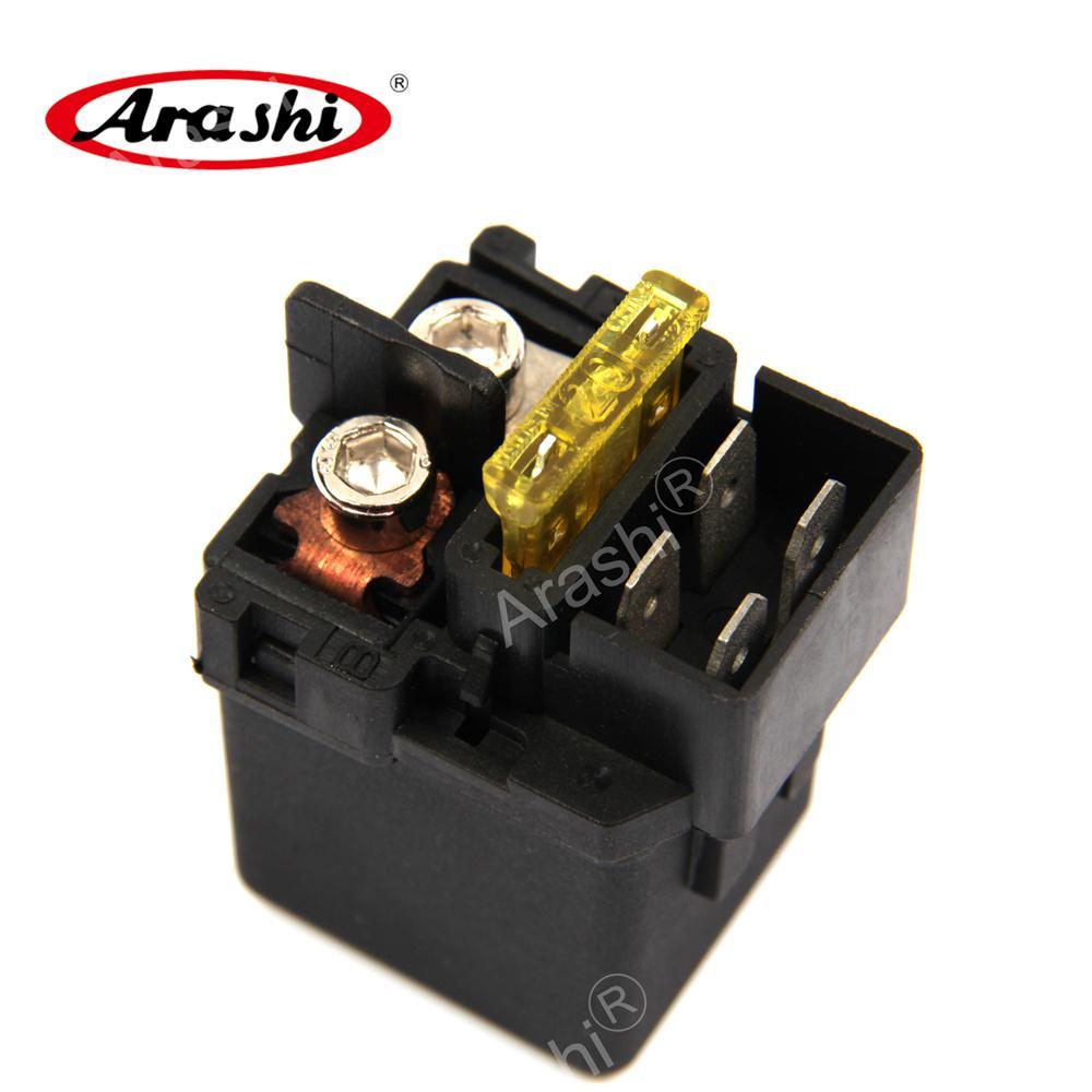 Arashi Electrical Starter Relay solenoide para Honda RVF750R 1994 ST1300 2003-2011 VT750 Shadow 1997-2009 CBF500 2004-2007 CBF600 2004-2009