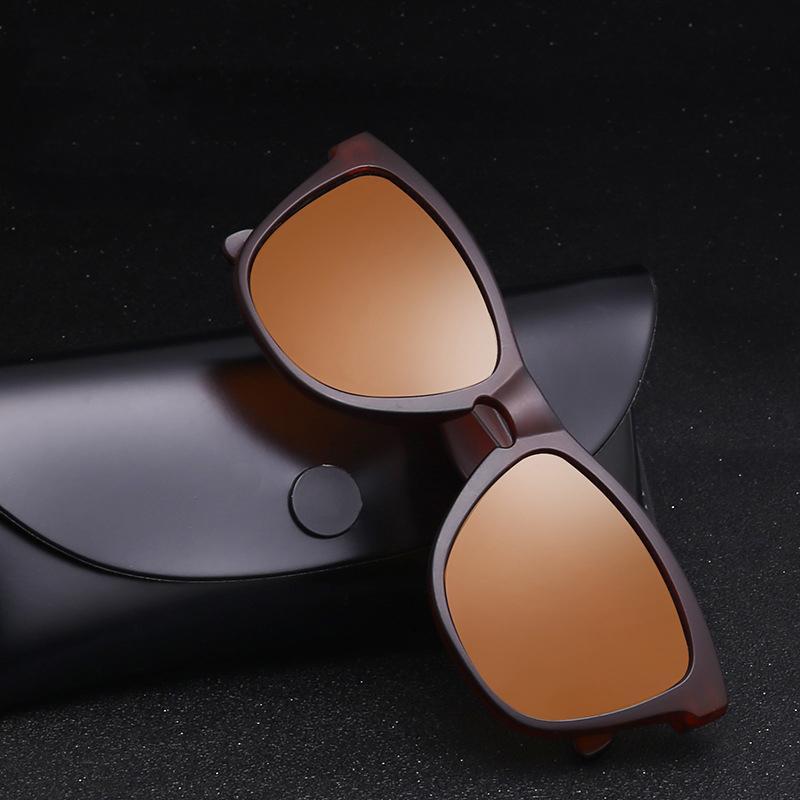 Yeni Lens Marka 2019 Unisex Güneş Erkekler / Kadınlar Polarize Vintage Moda Gözlük Retro Aksesuarları Gözlükler için Güneş Gözlüğü Gwhua