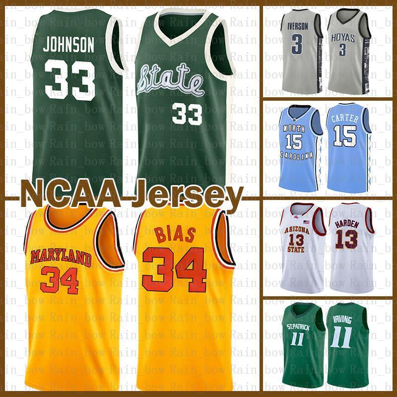 NCAA LEN 34 BIAS University Ohrvin 33 Johnson Kyrie Stephen 30 Curry Irving Kawhi Dwyane 3 Wade Leonard Ncaa Lebron 23 James Basketball Jers