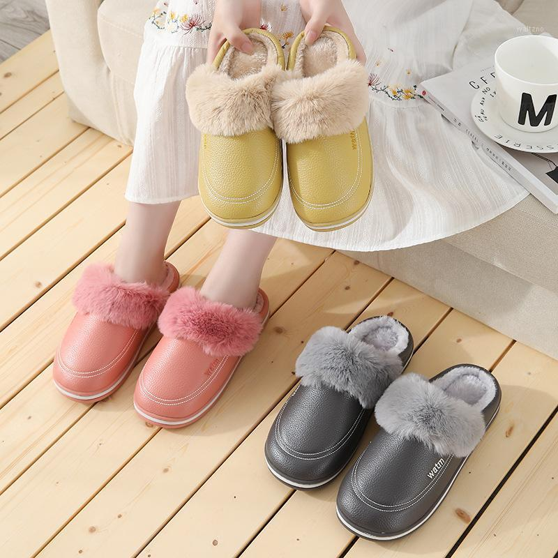 Winter Fuzzy Warm Slippers Women Men Home Floor Slipper Soft Plush Anti Slip Lovers Indoor Shoes Ladies Floor Cotton Slides1