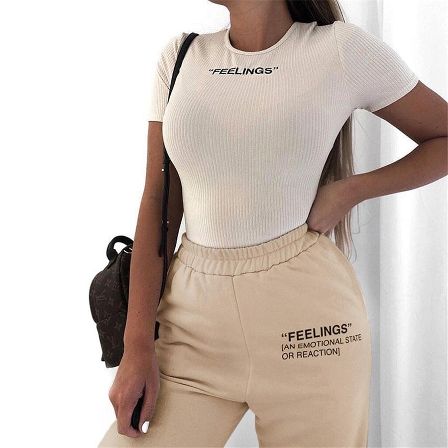 2020 Primavera das mulheres Macacões Carga Casual Calças Dragão Bordado Hip-Hop Calças Lady lápis calças pretas C4036 # 828
