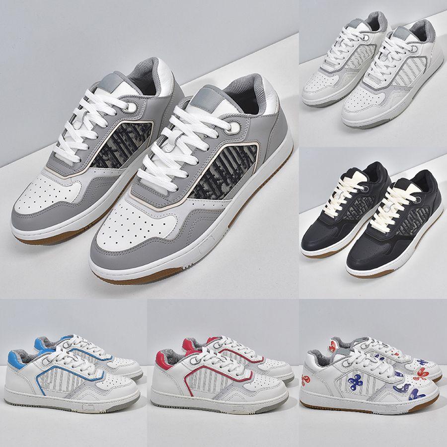 Austrália Designers Mens Sneakers Sapatilhas Top Qualidade Suave Vaca Couro Splicing Impresso Bordado Moda Verão Outdoor Sapatos Casuais