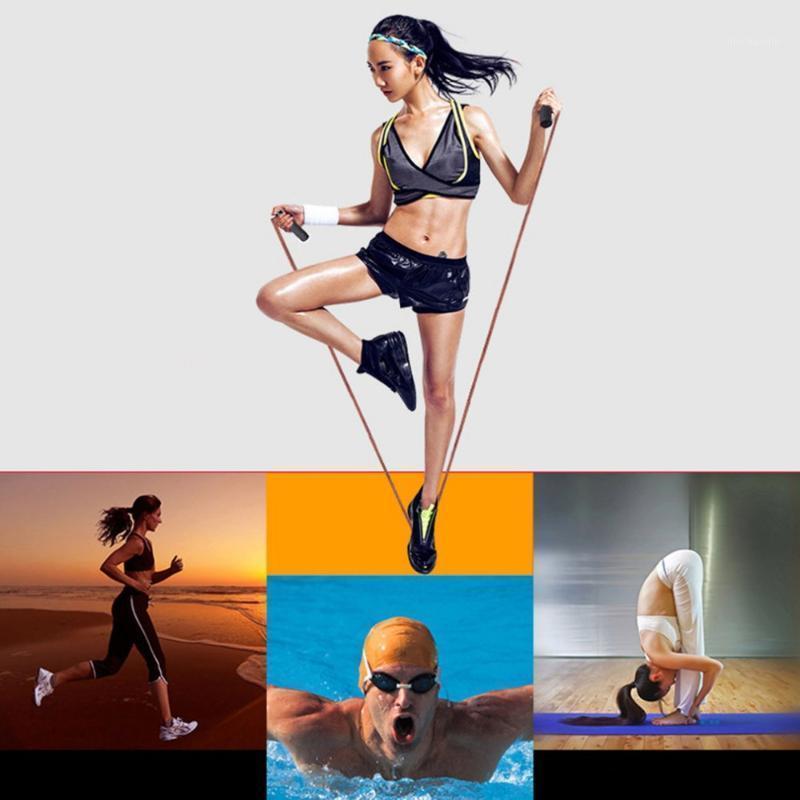 Rinds-Seil Leder Seil Überspringen Geschwindigkeit Fitness Aerobic Jump Fitness Ausrüstung Einstellbare Überspringen Übung SKIP1