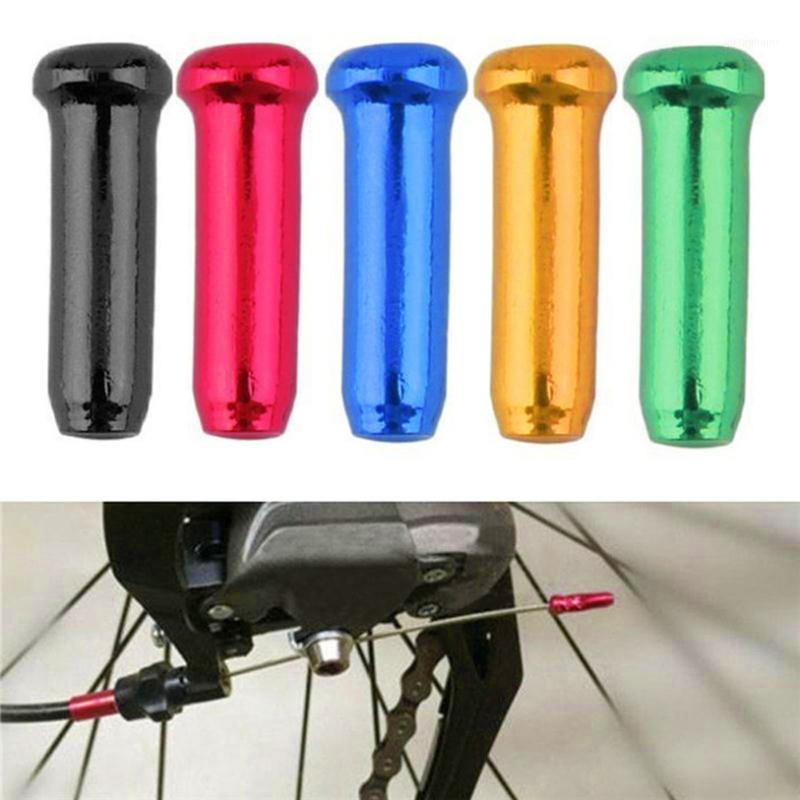30 unids Bicicleta MTB Freno Freno Core Tap Cable Cable Cubierta de aluminio Capacidad de engranajes Partes Deportes al aire libre Bicicleta Ciclismo Accesorios Nov 81