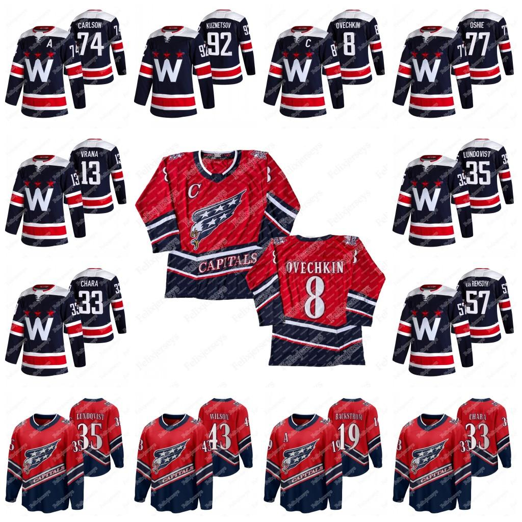 39 Anthony Mantha Washington Capitals 2021 Navy Jersey Alex Ovechkin Zdeno Chara Henrik Lundqvist John Carlson T.j. Oshie Wilson Nicklas Backstrom