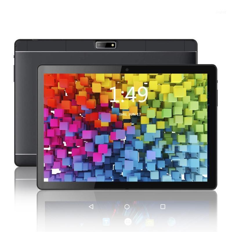 Tablet PC 2021 Google Play Android 8.0 OS 10.1 polegada Quad Core 4GB RAM 64GB ROM 1280 * 800 IPS 2.5D Vidro Crianças comprimidos 10.11