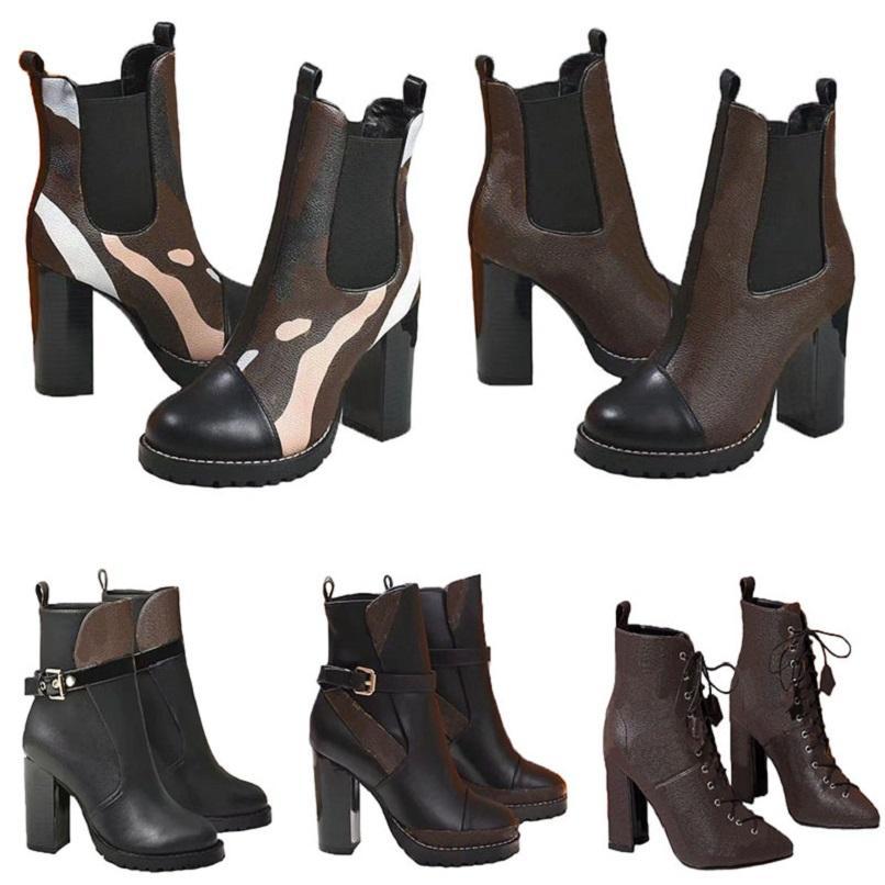Moda sobre a cor do joelho combinando cabeça redonda mulheres botas longas fêmea martin casual selvagem não-deslize mulheres mulheres botas cowboy hm011 18