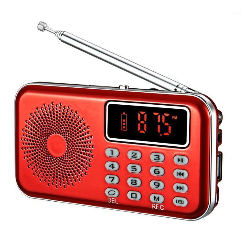 Digital Radio AM FM Bluetooth-Lautsprecher Stereo MP3-Player TF / SD-Karte USB-Laufwerk Freisprecheinrichtung 2-Zoll-Bildschirm-LED-Anzeige lautsprecher1
