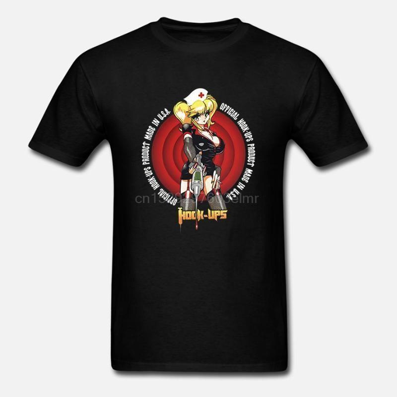 Camisetas para hombres ganchos de gancho cherry sexy anime skateboard t-shirt tee1
