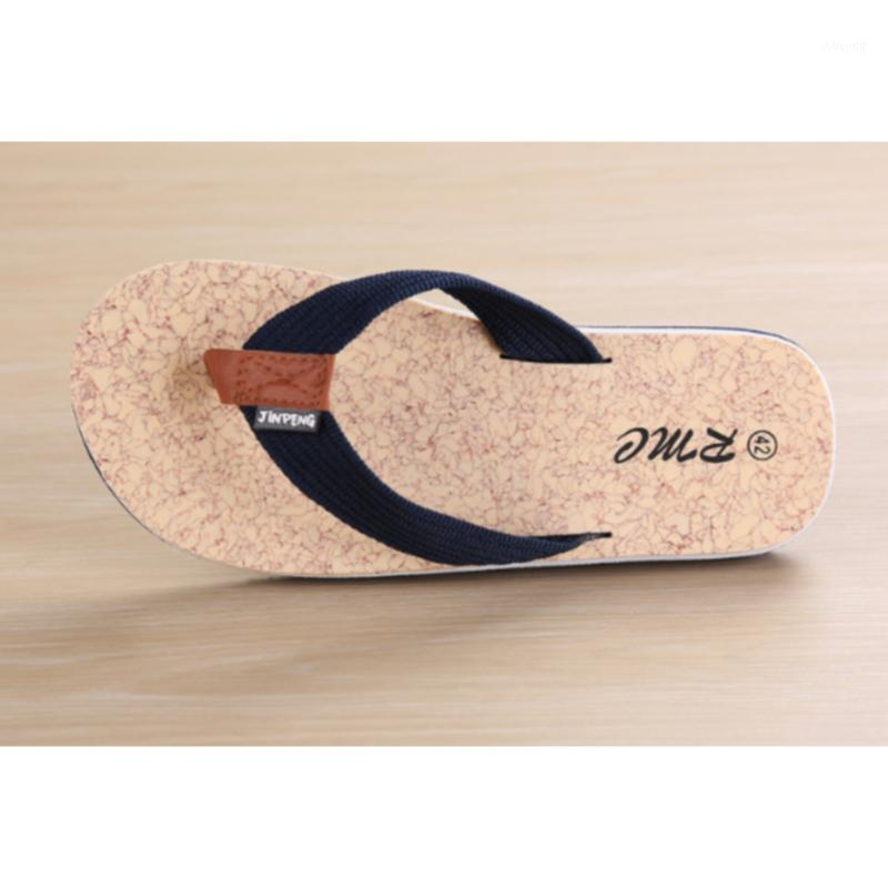 Flip-flop-flip-flop-flops e pantofole da spiaggia Sandali da uomo clip da punta Drag scarpe da uomo1