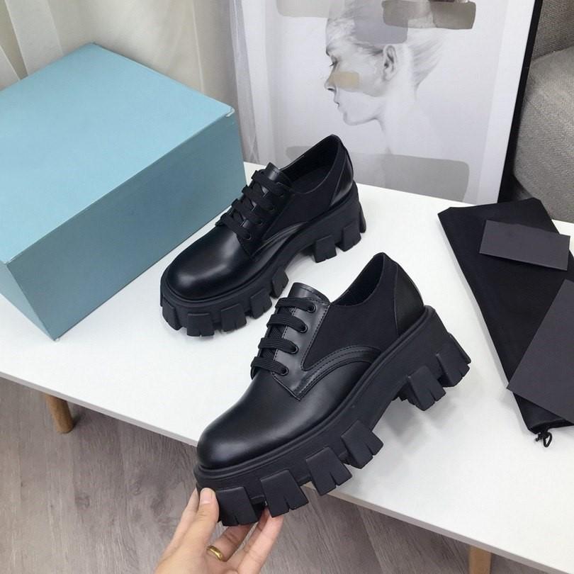 Nuevas botas de moda cuero damas otoño invierno zapatos casuales diseñador multifuncional cuero cálido boots corto 35-40
