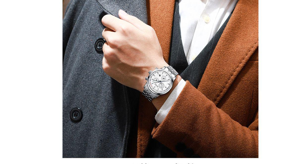 2021 LIGE CASSAL SPORT WATCH POUR HOMME TOP MARQUES MILITES MILITAIRES MILITES Montres Mens Horloges Mode Chronographe de mode Montre-bracelet