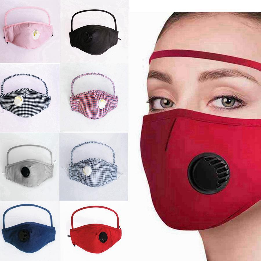 1 máscara de la cara de la cara de los ojos con la máscara de la válvula protectora lavable reutilizable del escudo ciclismo a prueba de polvo 2 algodón escudo RRA3232 SAACH