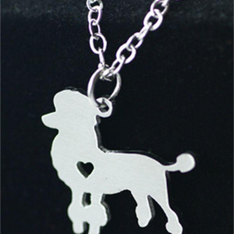 Модный аксессуар Новый VIP подвеска, воротник цепь, кореец из нержавеющей стали собака ожерелье 17R8B