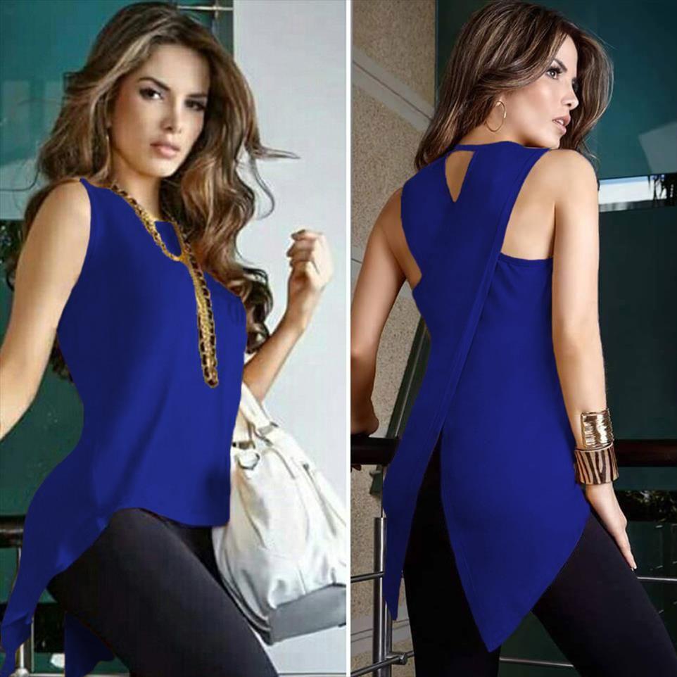 Новые Женщины блузка рубашка Sexy рукавов Топы Tee Blusas Feminina Vintage Clothing Plus Size Harajuku весна лето мода