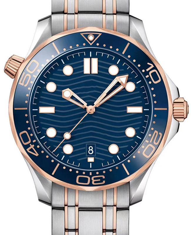 로즈 골드 고무 스트랩 남성 패션 숙 녀 태그 레이디 여성 디자이너 망 다이아몬드 기계 자동 자동 손목 시계 운동 시계 시계