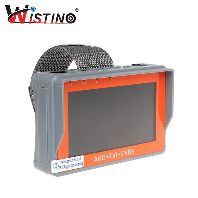 HD 4.3 pulgadas 3 en 1 Probador de cámara analógico HD AHD TVI CCTV Monitor Test UTP Cable 1080P CVBS Vigilancia 12V1A 5V1A Audio1