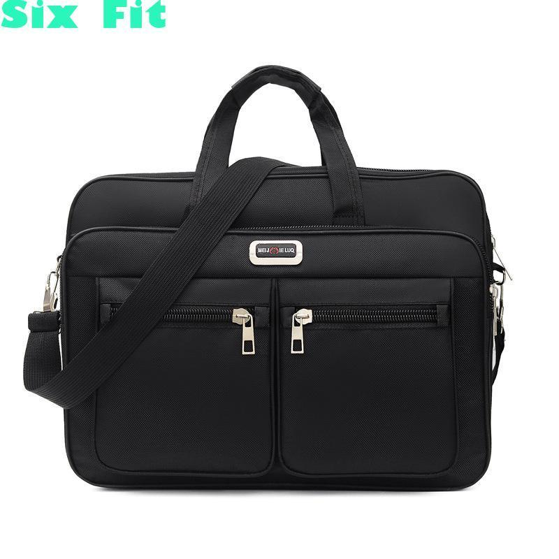 2021 Briefcases Of Various Sizes Men's Laptop Suitcase Waterproof Oxford Men Business Shoulder Travel Bag Masculina Bolso Hombre Q0112