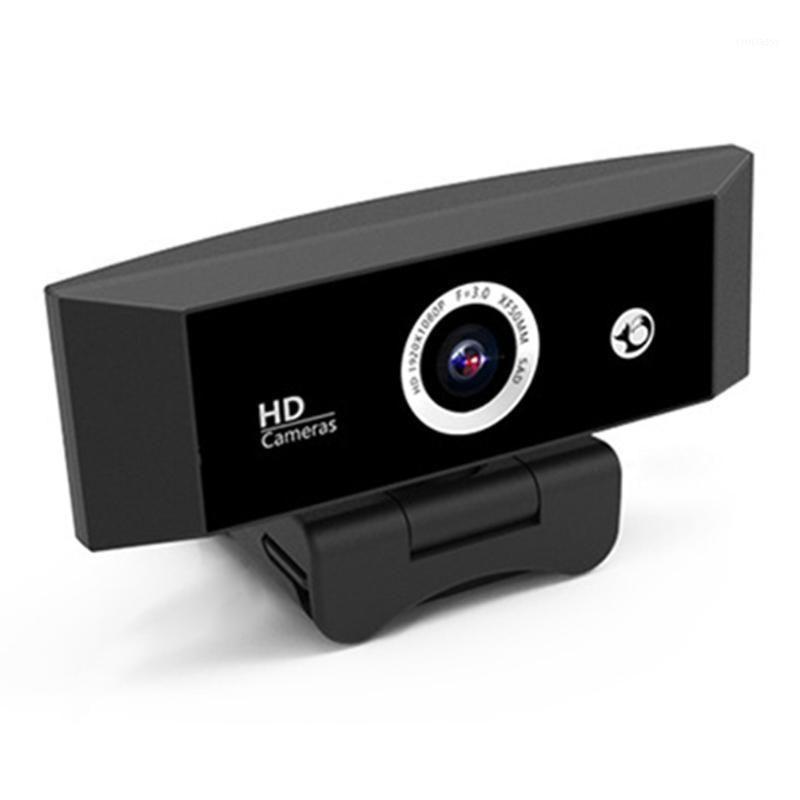 Webcams 1080p HD USB Webcam Video Conferência ao vivo Video Web Câmera Web com Microfone Widescreen Trabalho Home Acessórios1