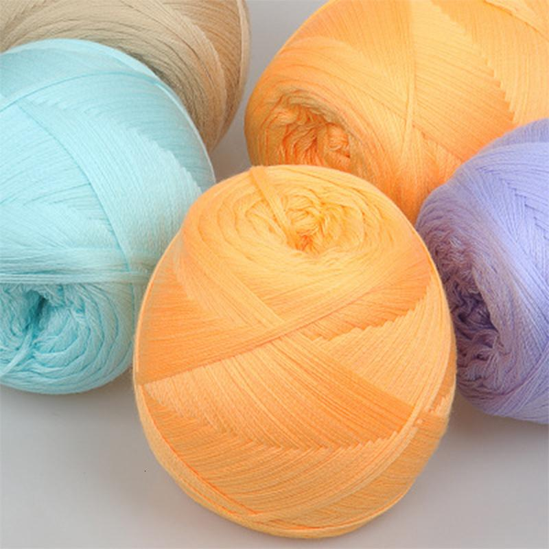 Вязание Yomdid Мерсеризованный Cotton Line поделки ручной работы свитер Hat шарф Вязание Пряжа Практическая Handcraft ткачество Тема Dzkd