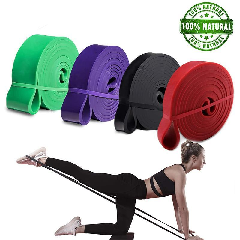 Resistance Bands 2080x4.5mm Pull Up Premium Latex Loop Stretch Workout/Exercise Band Mobility & Powerlifting Assist