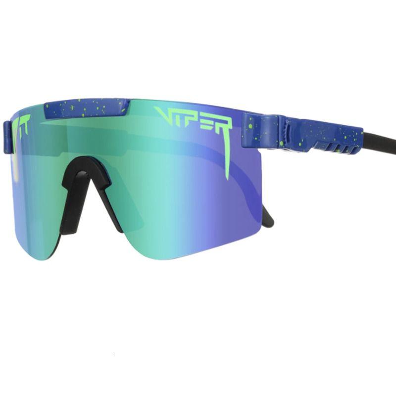 The 1993 Pollarized Dupla Wide Poço Viper Sunglasses Esportes Esportes Ao Ar Livre Esqui Vidros 70% OFF À VENDA IL81