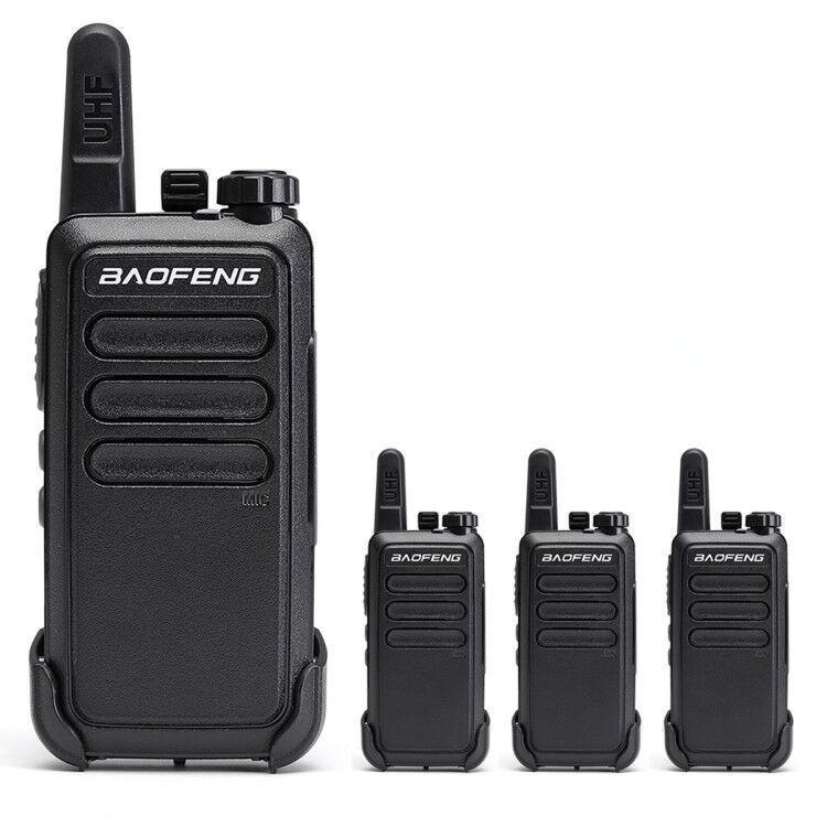 4pcs Baofeng BF-C9 Mini Walkie Talkie definir Rádio Portátil UHF banda USB CHARG Long Range Radio Two Way Ham cb atualizar de bf-888s