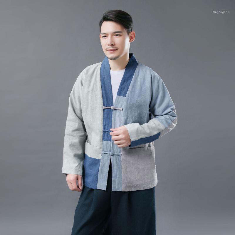 Giacche invernali da uomo e cappotti retrò inverno originale nuovo splificante spessore maschio in cotone-imbottito vestiti do vecchia giacca creativa D1251