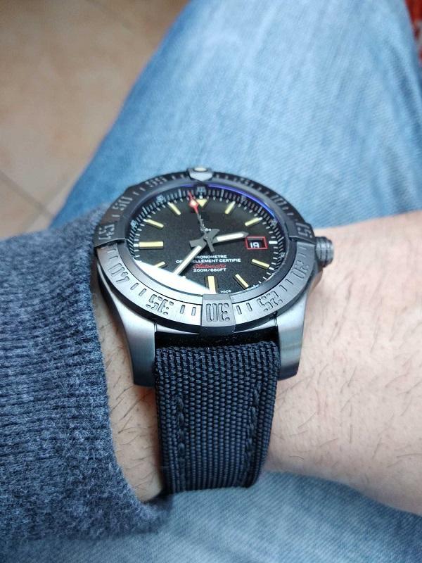 44 мм V4 Лучшее качество Издание Сапфировый кристалл водонепроницаемый Classic Men Watch Mens наручные часы DLC GF Titanium 2824