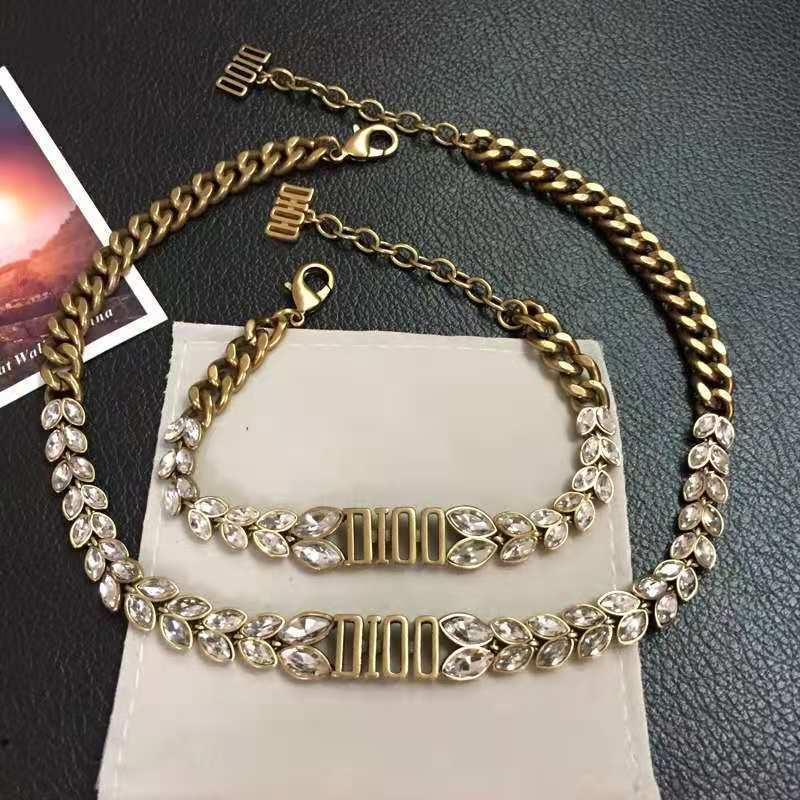 الأزياء القمح الأذن الكريستال سوار مفتوحة / قلادة مناسبة للسيدات تصميم السيدات إلكتروني سوار مجوهرات