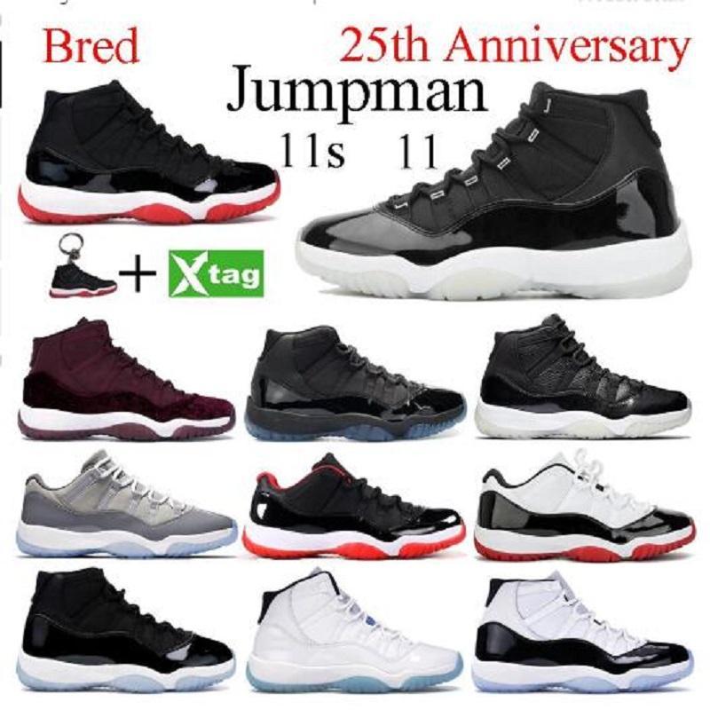 أحذية جديدة كرة السلة الرجال 1 ثانية عالية og jumpman 1 منتصف UNC تويست عشوائي 11 ثانية الذكرى 25 bred كونكورد 11 رجلا