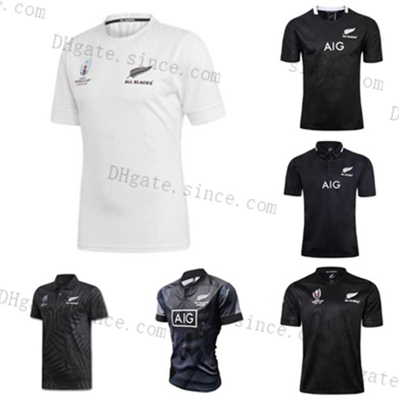 2020 Neue Ankunft Alle Black Super Rugby Jerseys Sevens Rugby-Shirt MAILLOT CAMISETA MAILLOT CAMISETA MAGIA TOPS MENS S-3XL KIT