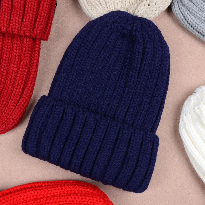 الخريف والشتاء المرأة قبعة الفراء الكرة كاب محبوك قبعة امرأة فوبري مصممين أزياء كاب بوم بوم قبعة