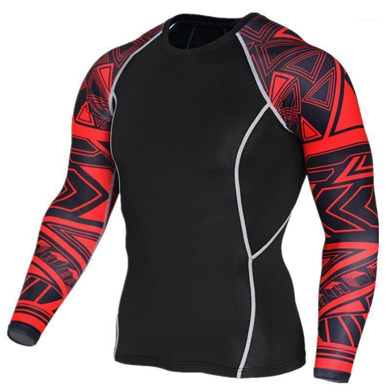 3D impresso t-shirt gym executando camisa respirável compressão camisa de manga longa andando treinamento esportes rashguard jersey frete grátis1