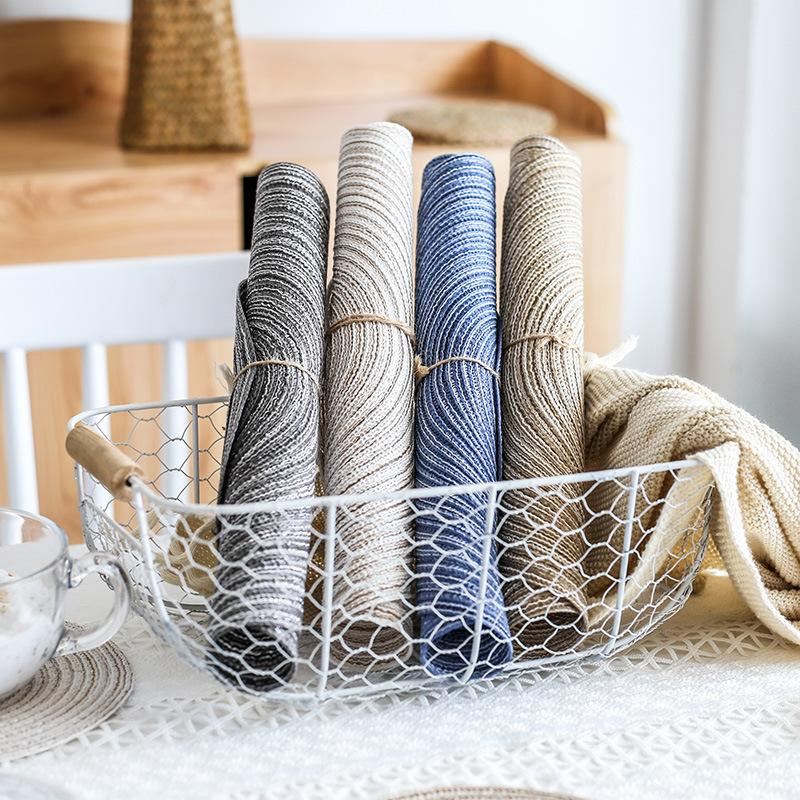 Mano Made Weave Ramie Placemat Circulare Multi Colori Isolamento Isolamento Anti Slip Tavolo Pad Hot Food Food Bowl Pan Mat Vendita calda 4 3 3DDY L2