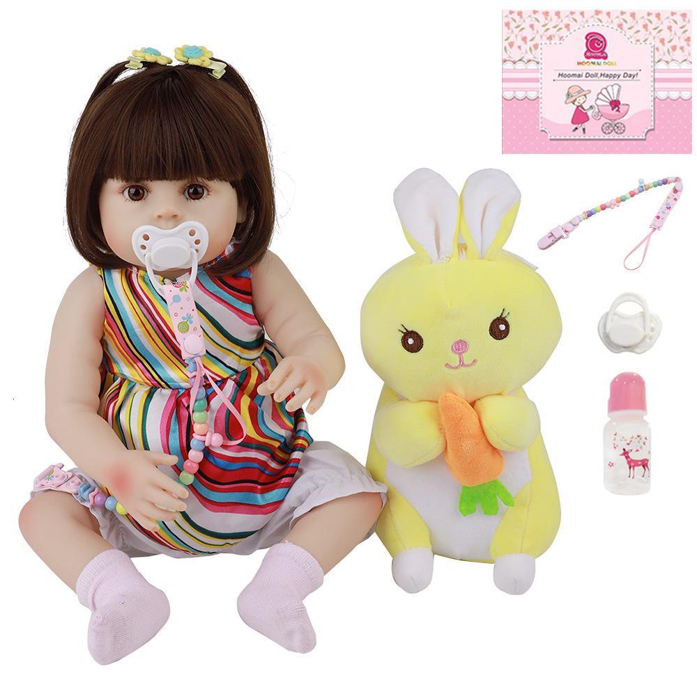 """Simulación Baby Silicone Reborn Doll 18 """"48cm Axnl"""