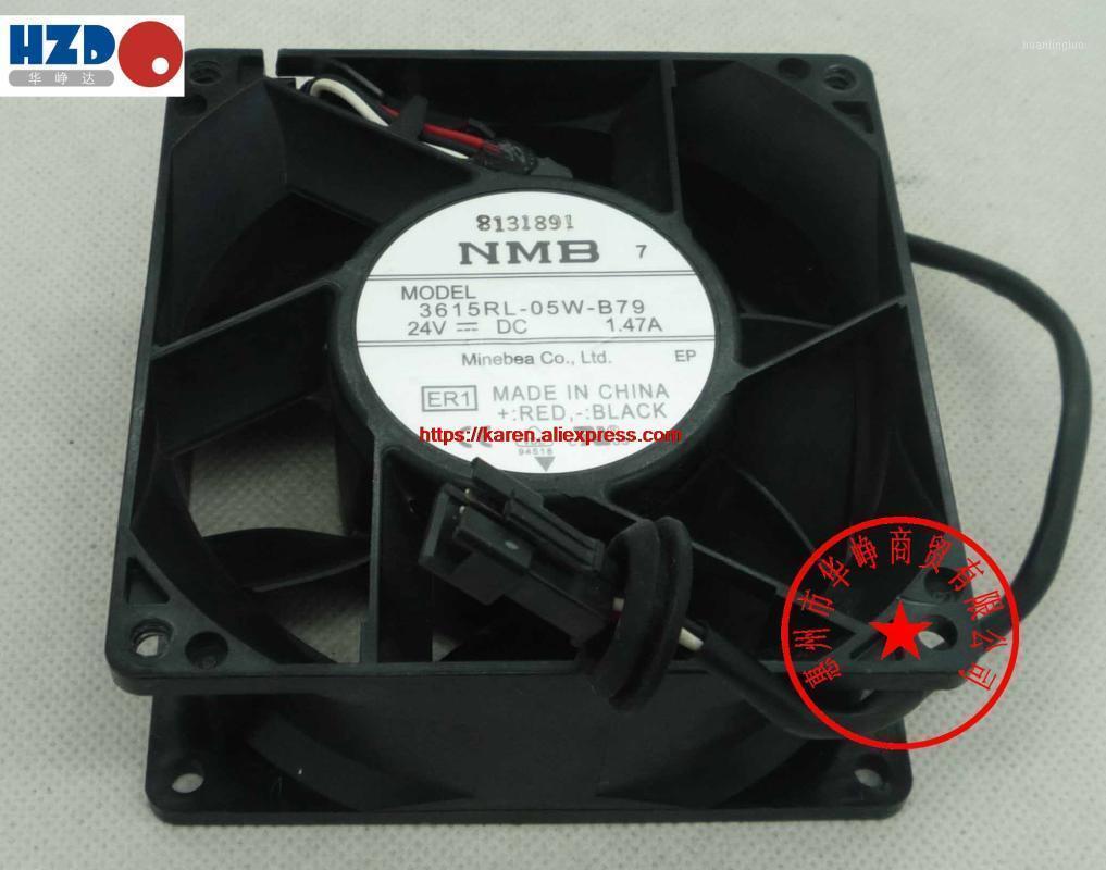 Вентиляторы Охлаждения NMB 9238 24V 3615RL-05W-B30 0.53A 3615RL-05W-B50 0.93A 3615RL-05W-B79 1.47A CNDC24Z4P-977 12CM 12308 10W 3WIRE Охлаждение вентилятора1
