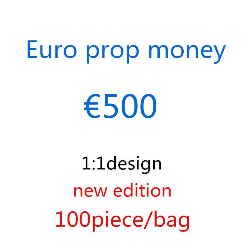Movie Play Crafts Geneet Money Fake 500 атмосферу валюты реквизиты бумажный бар 1: 1 реквизит подарки Детская вечеринка реквизит Faux Euro Euro Simulation FLQB