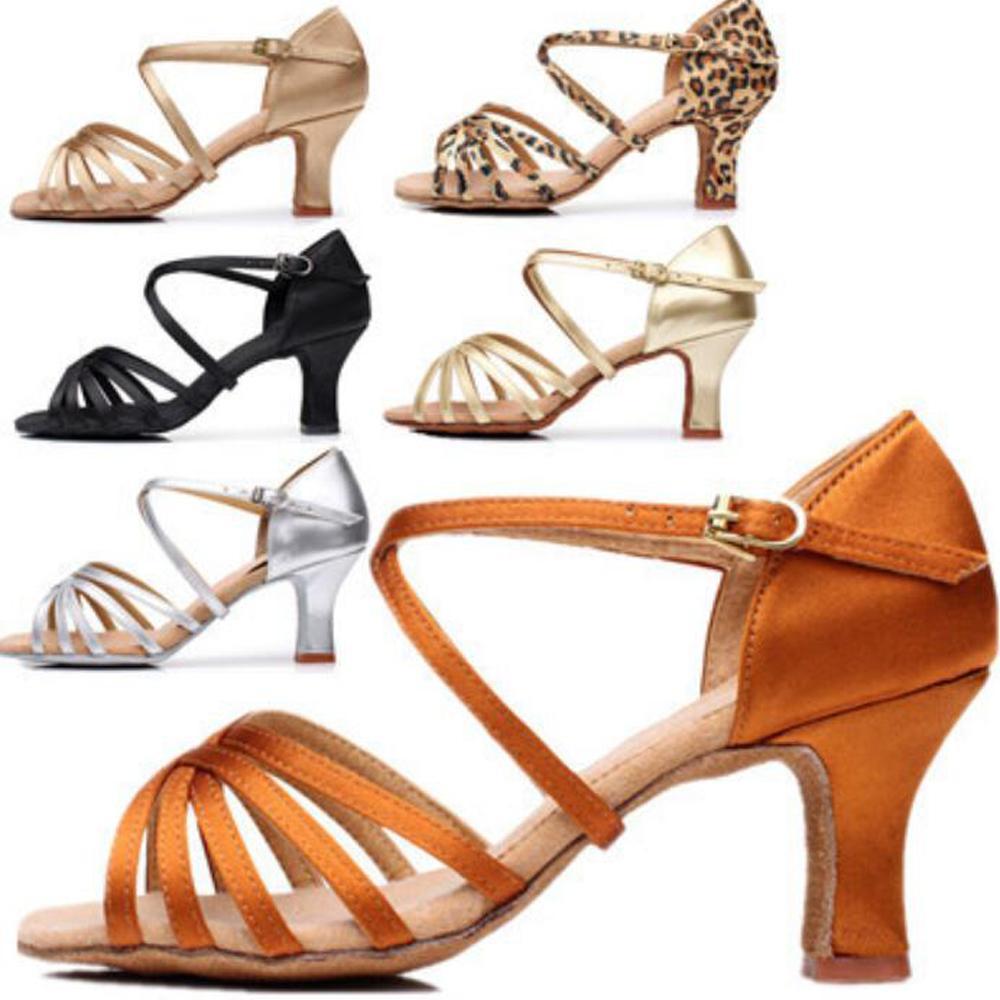 Женщина танцевальные туфли дамы девушки тапки танцы женские джазовые бальные сальса 6 цветов около 5см / 7см