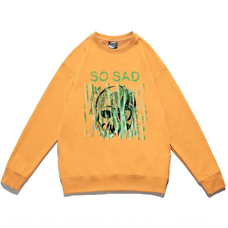 MFqj7 Cwy1987 flojo redondo ins hombre de primavera de los hombres otoño capa pareja de moda suéter de la capa del suéter de cuello de los hombres y cy659