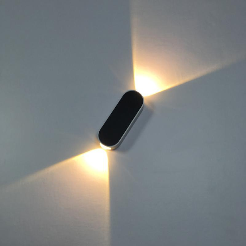 أضواء الجدار الحديثة لغرفة النوم غرفة المعيشة أعلى الإضاءة ديكور المنزل الألومنيوم أدى الجدار مصباح غرفة نوم داخلي lampki