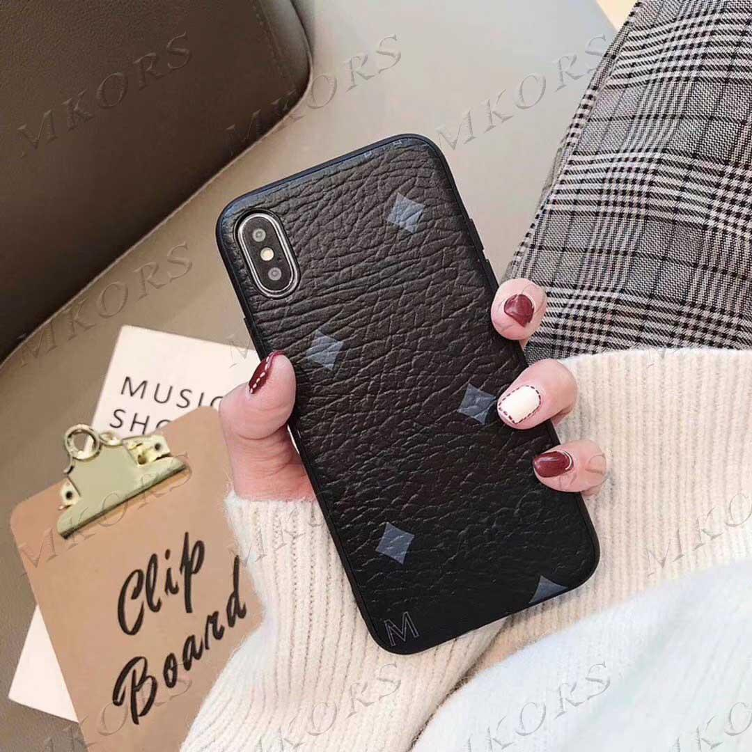 GE Fashion Phone Case for iPhone 12 Mini 12Pro 11 11PRO X XS MAX XR 8 7 6 6S Plus غطاء جلدي لسامسونج S20 S10 S9 S8 ملاحظة 20 10 9 8
