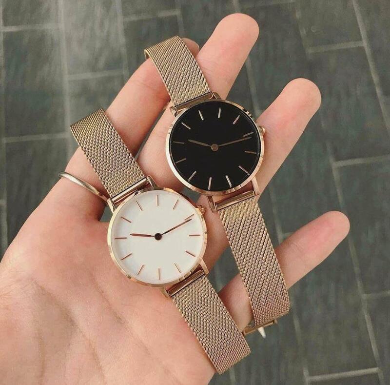 Yeni Lüks Kadınlar Saatler Moda Tasarımcısı İzle Bayanlar Saatler 32mm Rose Gold saatı Kuvars Saatler reloj de pulsera