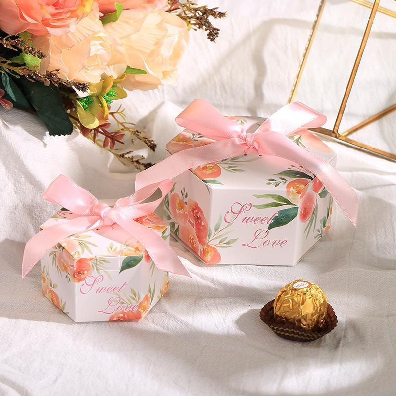 Подарочная бумага Бумага шоколада конфеты коробки свадебные благополучие коробки упаковки Goodie сумки cajas de regalo украшения вечеринки scatole bomboniere1